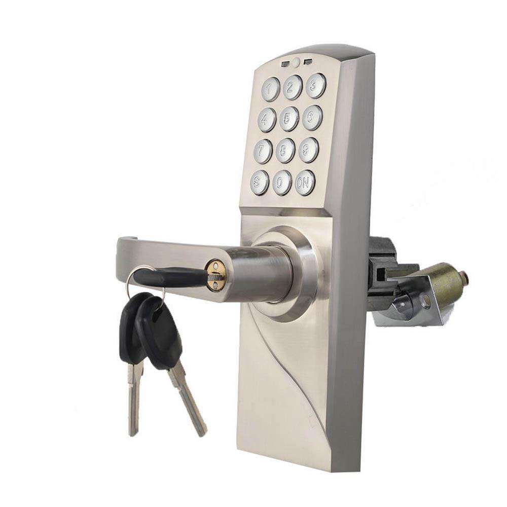 door knob with keypad photo - 5