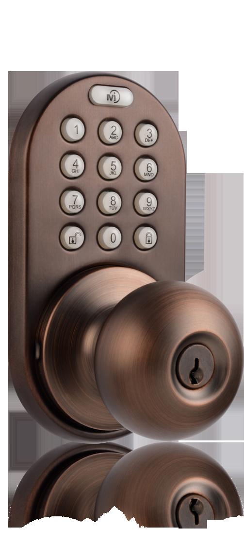 door knob with keypad photo - 8