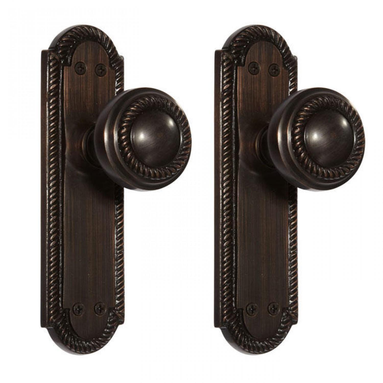 door knob with plate photo - 2