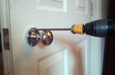 door knob without screws photo - 10