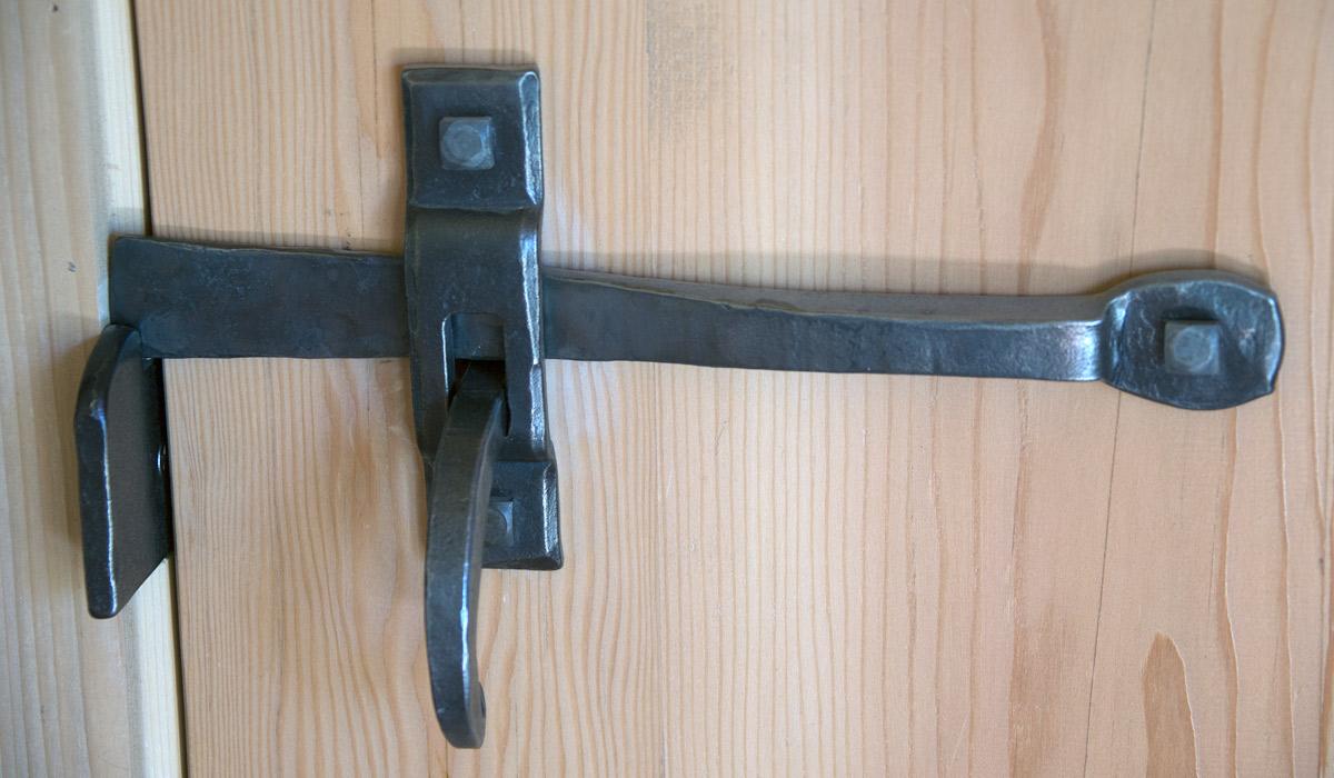 door knob without screws photo - 11
