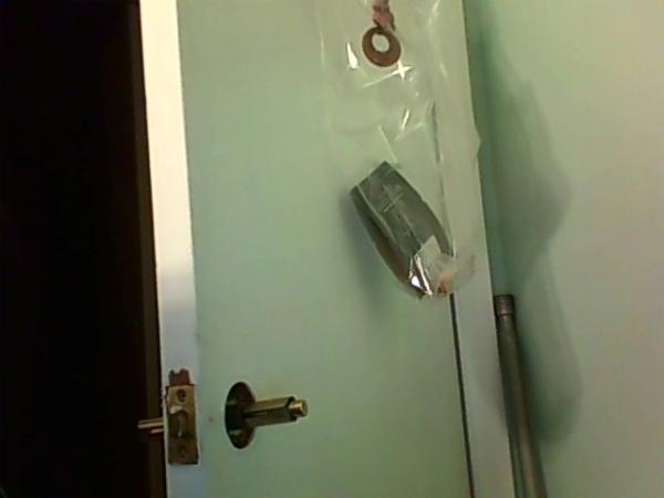 door knob without screws photo - 18