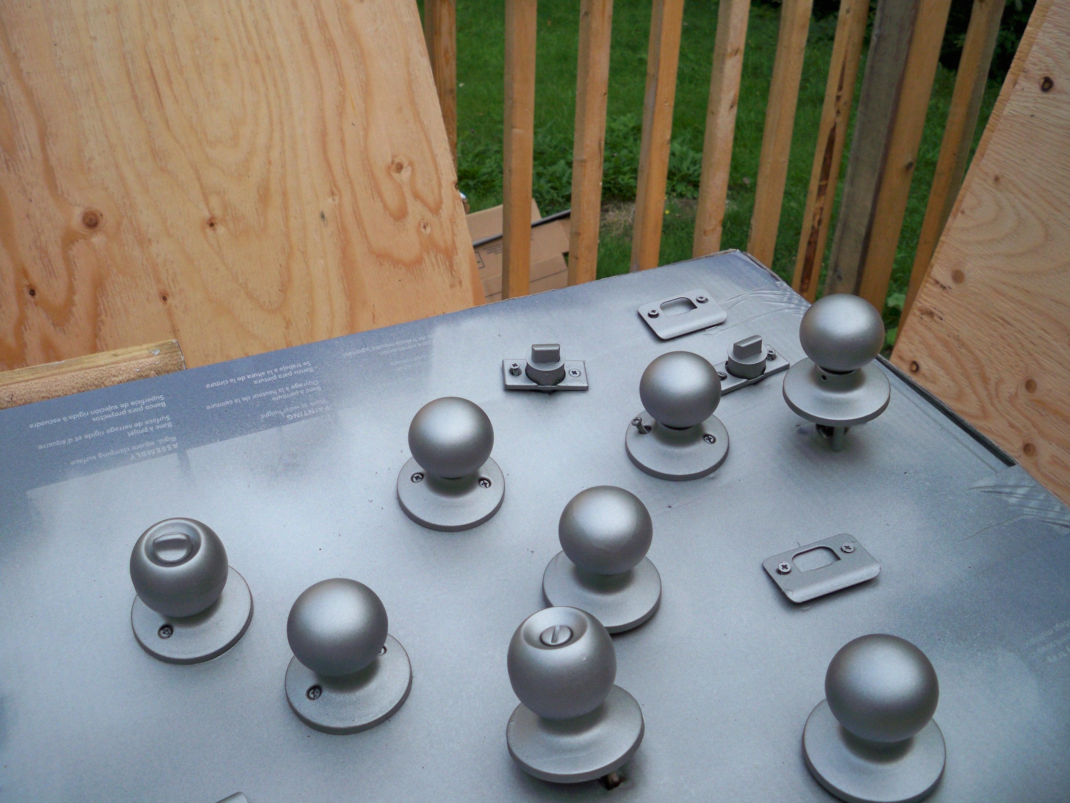 door knobs and broomsticks photo - 9