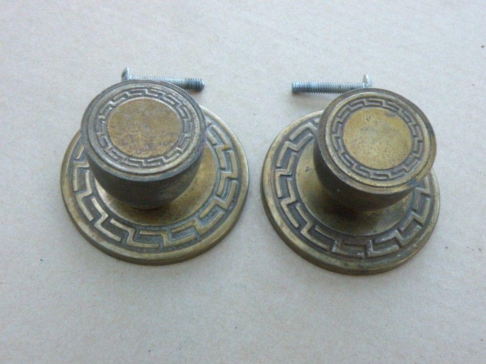 door knobs antique brass photo - 8