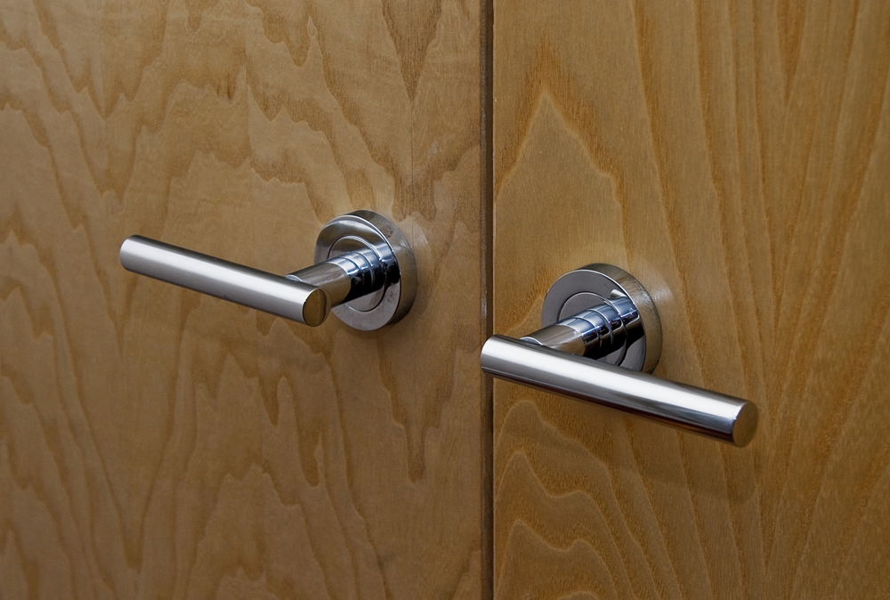 door knobs for double doors photo - 2