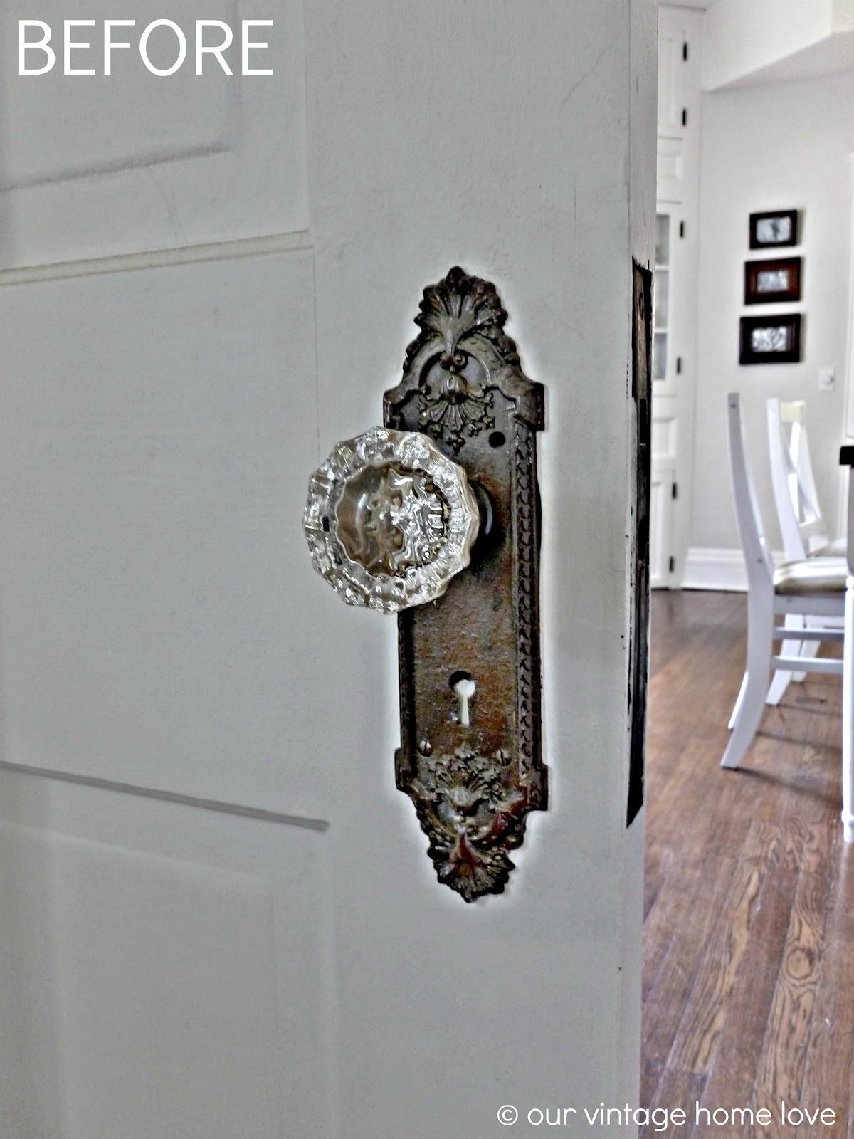 door knobs for thick doors photo - 9