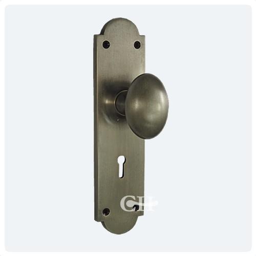 door knobs on backplate photo - 10