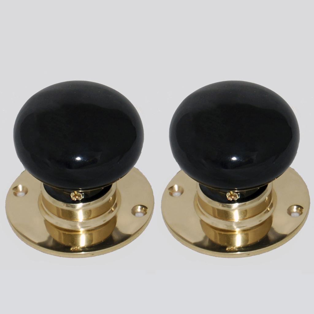 door knobs on backplate photo - 16