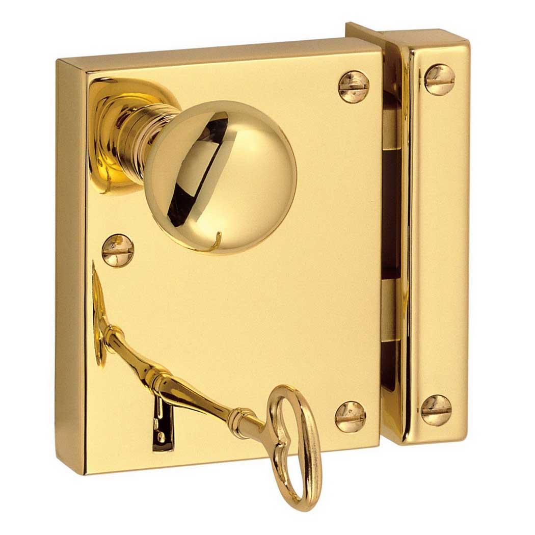 door knobs that lock photo - 14