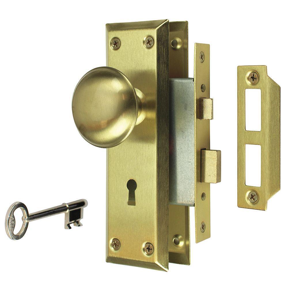 door knobs that lock photo - 16