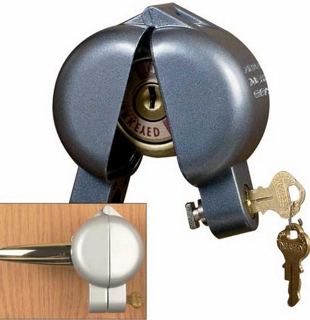 door knobs that lock photo - 20