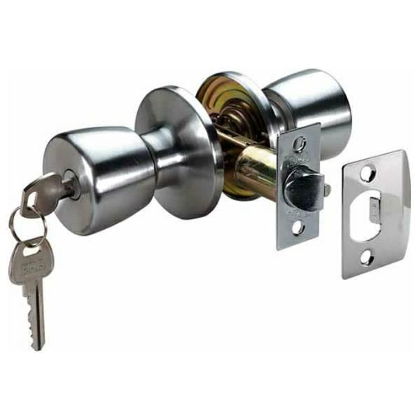 door knobs that lock photo - 8