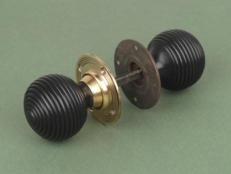 door knobs with backplate photo - 15