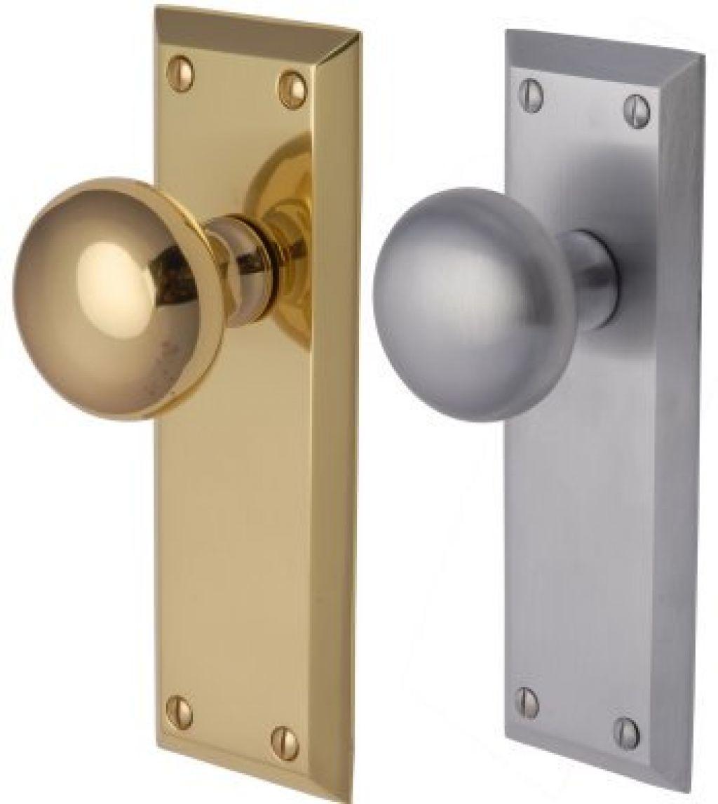 door knobs with backplate photo - 5