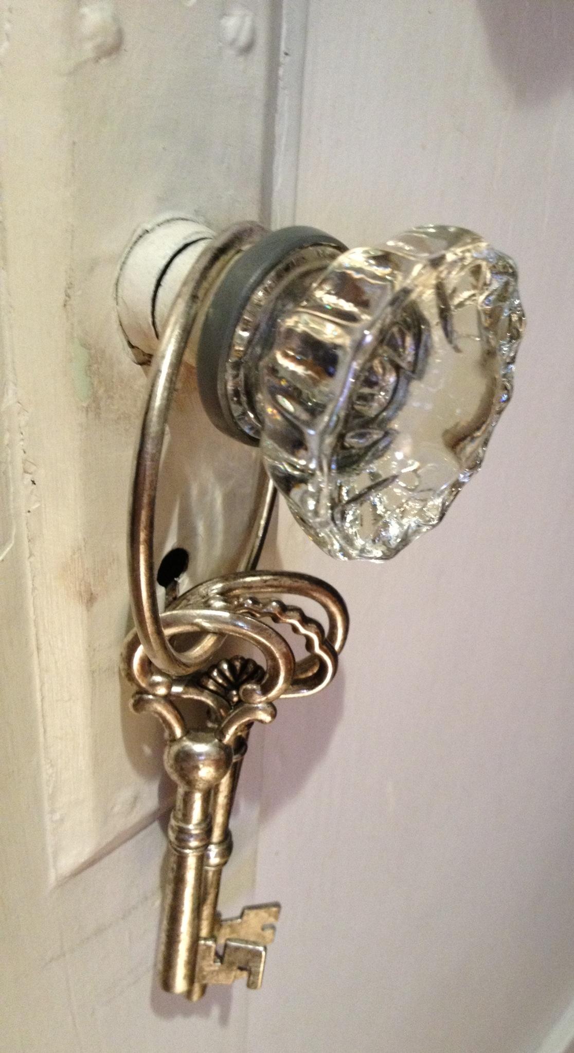 door knobs with keys photo - 1