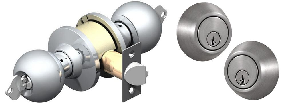 double cylinder door knob photo - 11