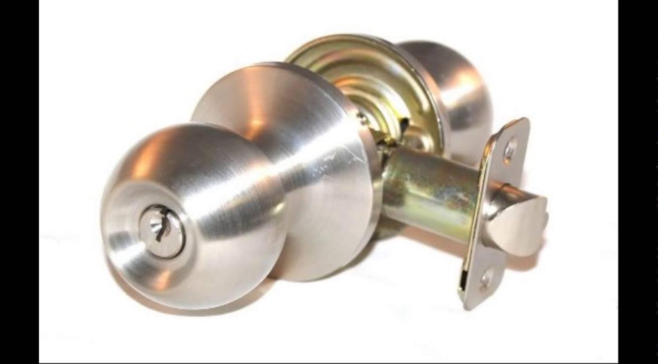 double cylinder door knob photo - 3