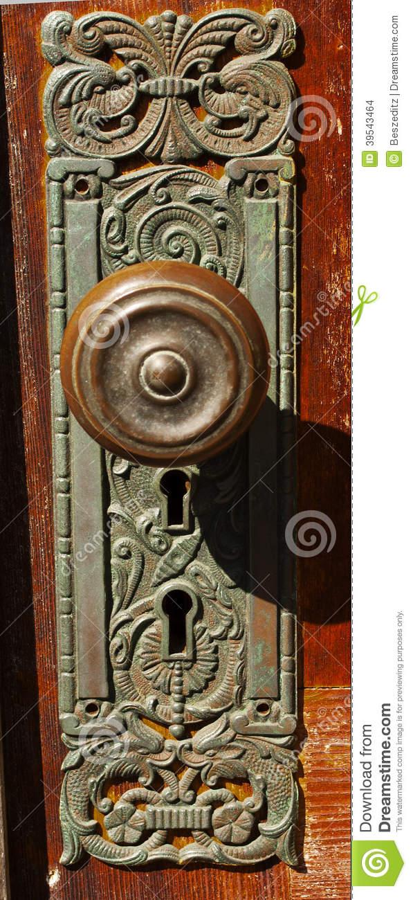 double key door knob photo - 19