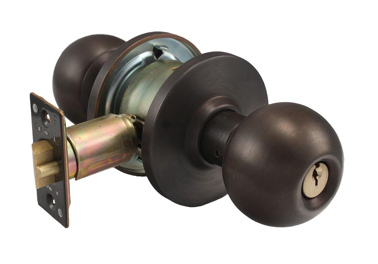 double lock door knob photo - 1