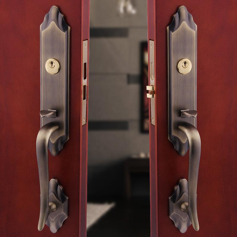 double lock door knob photo - 17