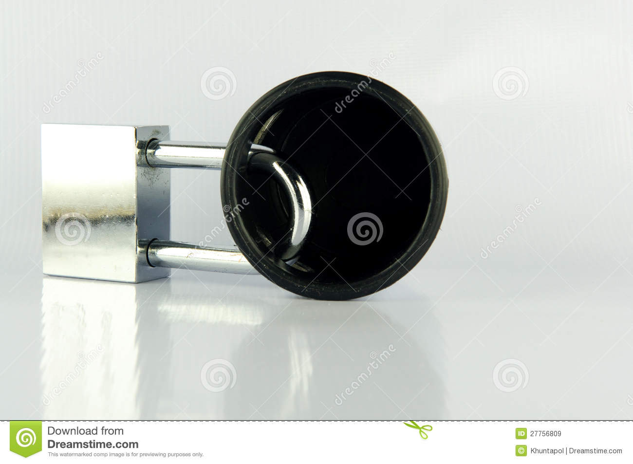 double lock door knob photo - 3