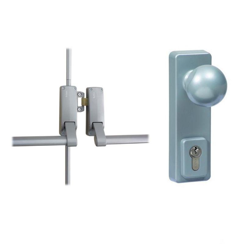 double lock door knob photo - 9