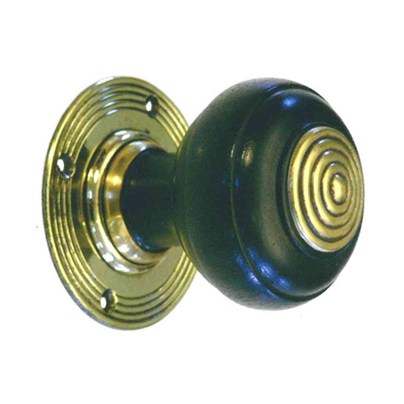 ebonised door knobs photo - 14