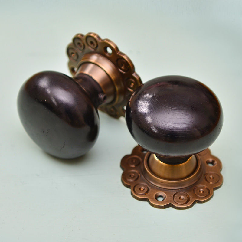 ebony door knobs photo - 6
