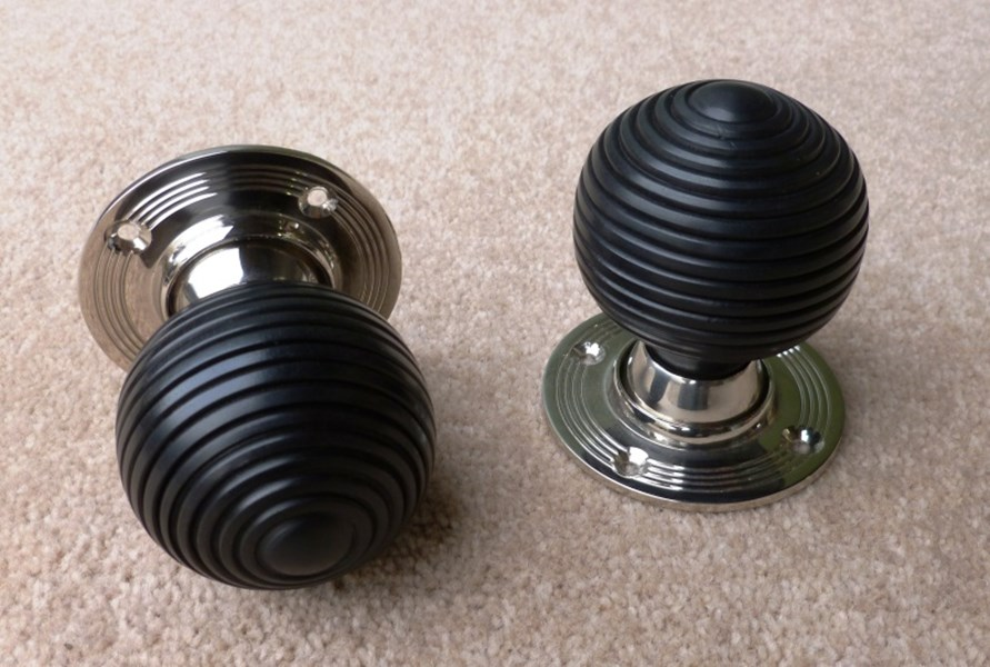 ebony door knobs photo - 8