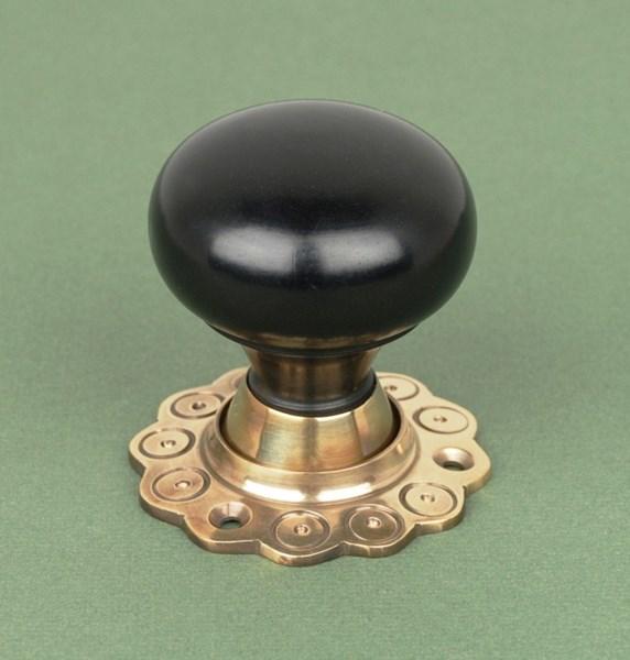 ebony door knobs photo - 9