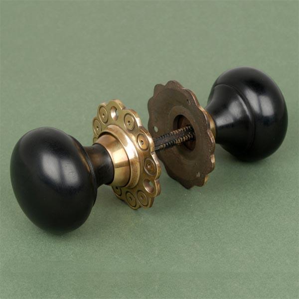 ebony door knobs uk photo - 4