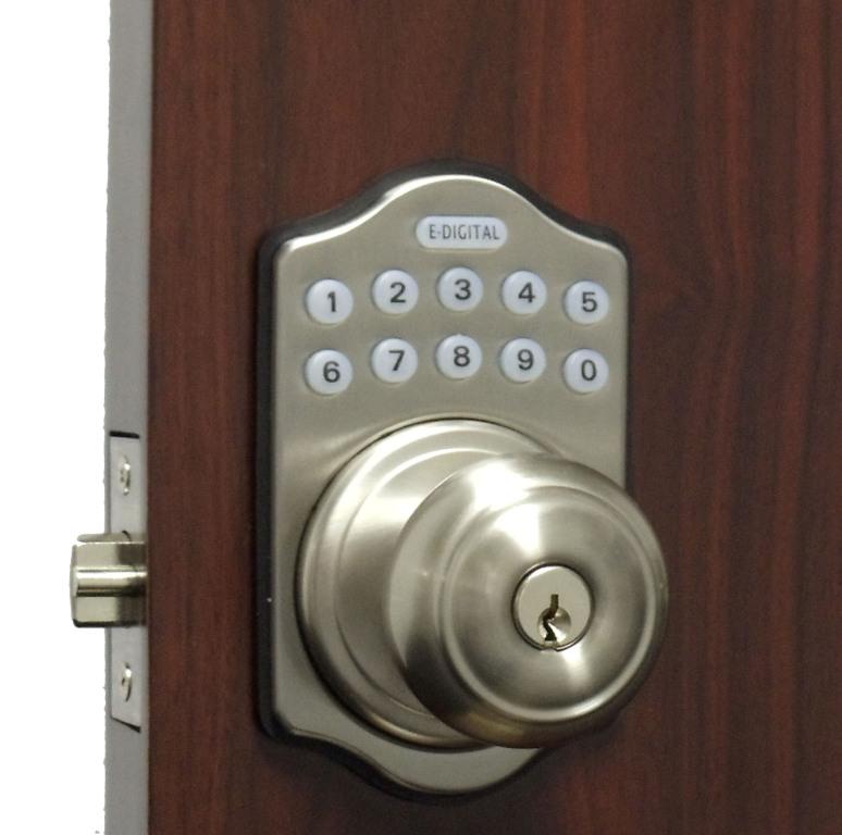 electronic door knob photo - 2
