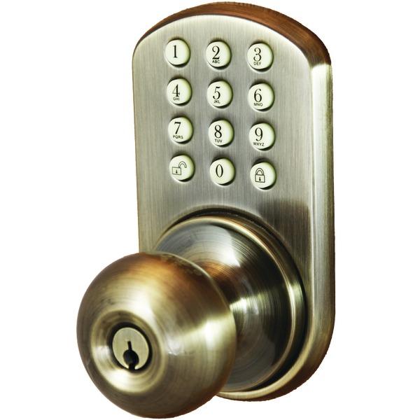 electronic door knob photo - 4