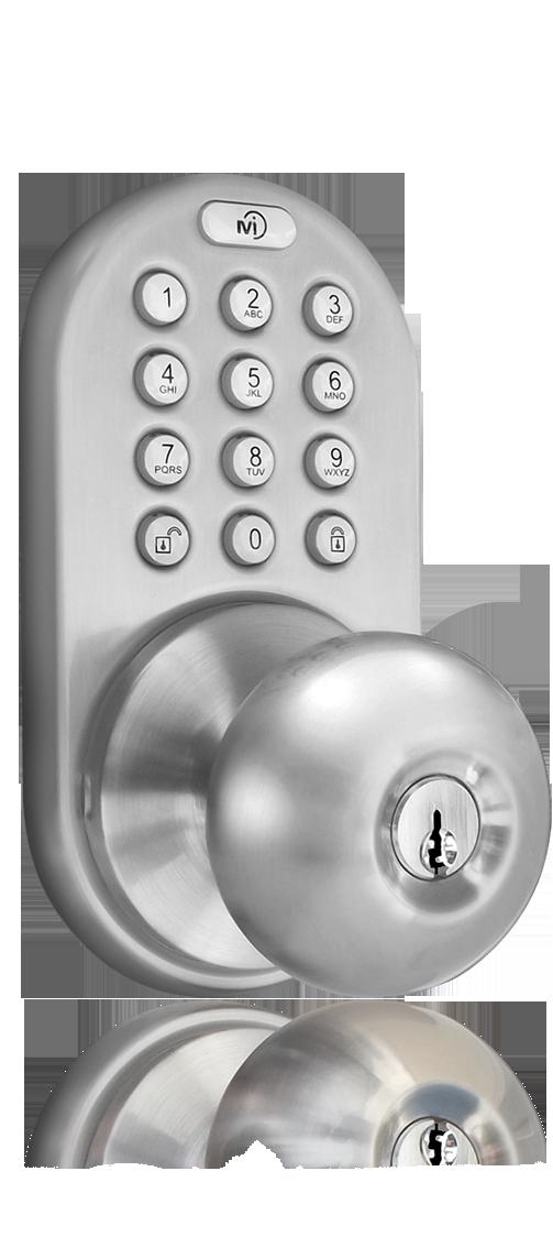 electronic door knob photo - 5