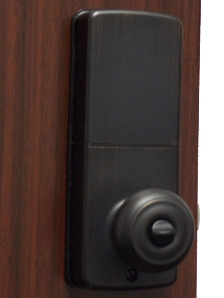 electronic door knob lock photo - 12