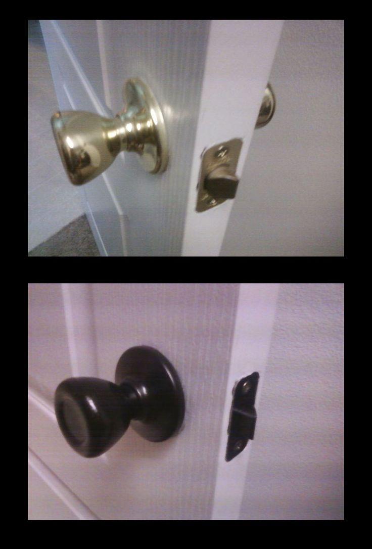 enamel door knobs photo - 9