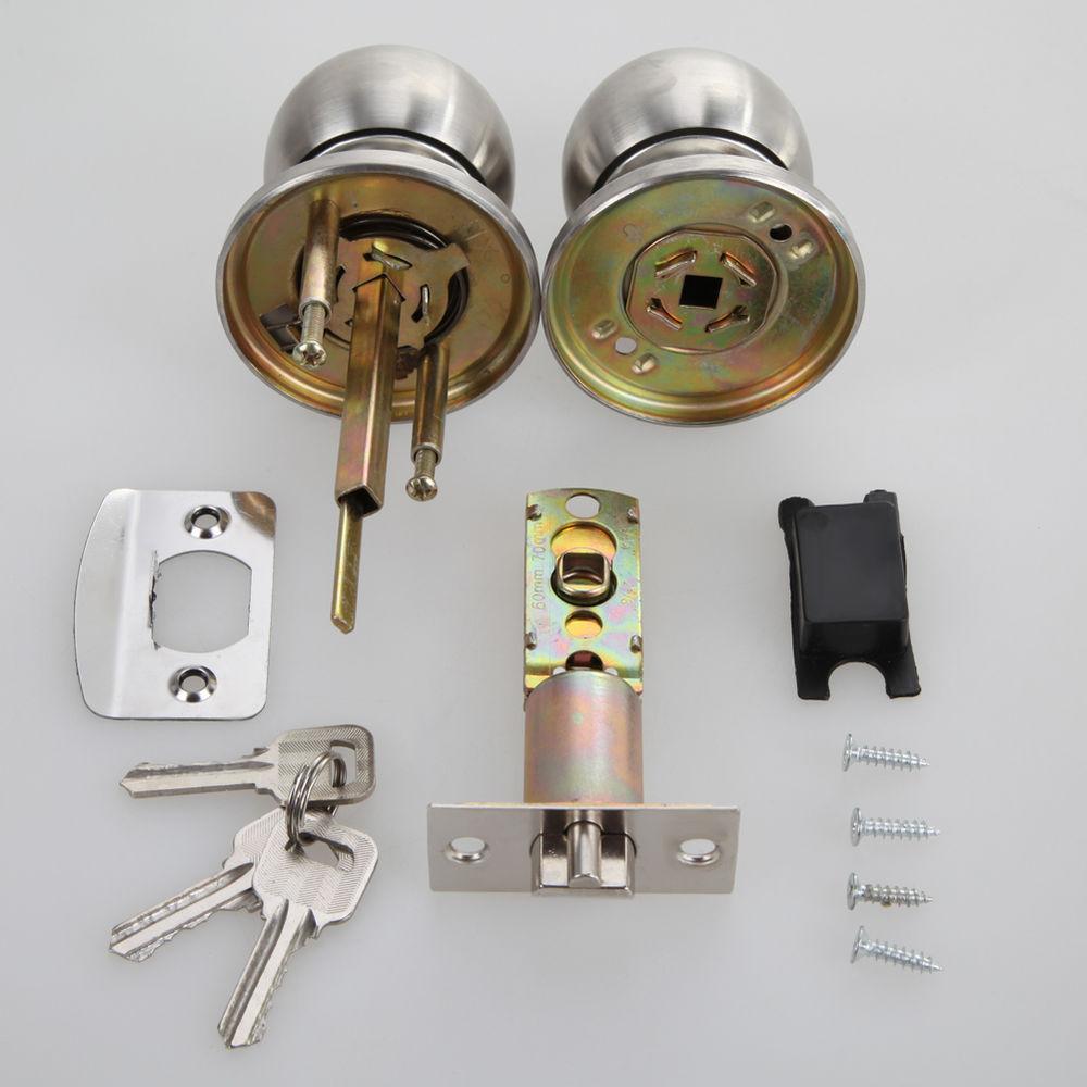 entrance door knob lock set photo - 13