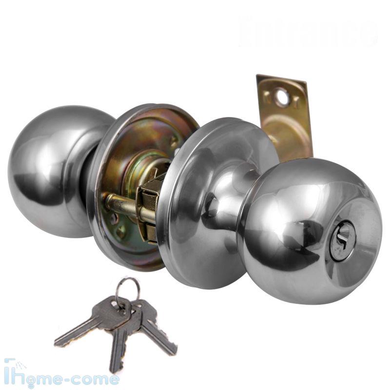 entrance door knob lock set photo - 9