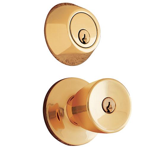 entry door knob with deadbolt photo - 3