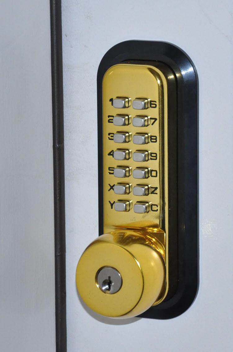entry door knob with deadbolt photo - 4
