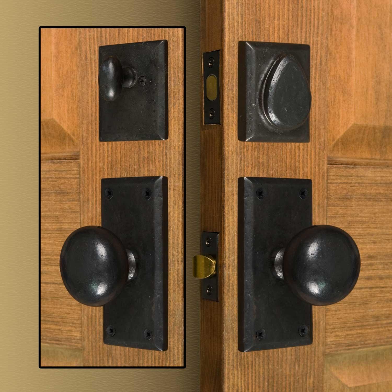 exterior door knobs photo - 13