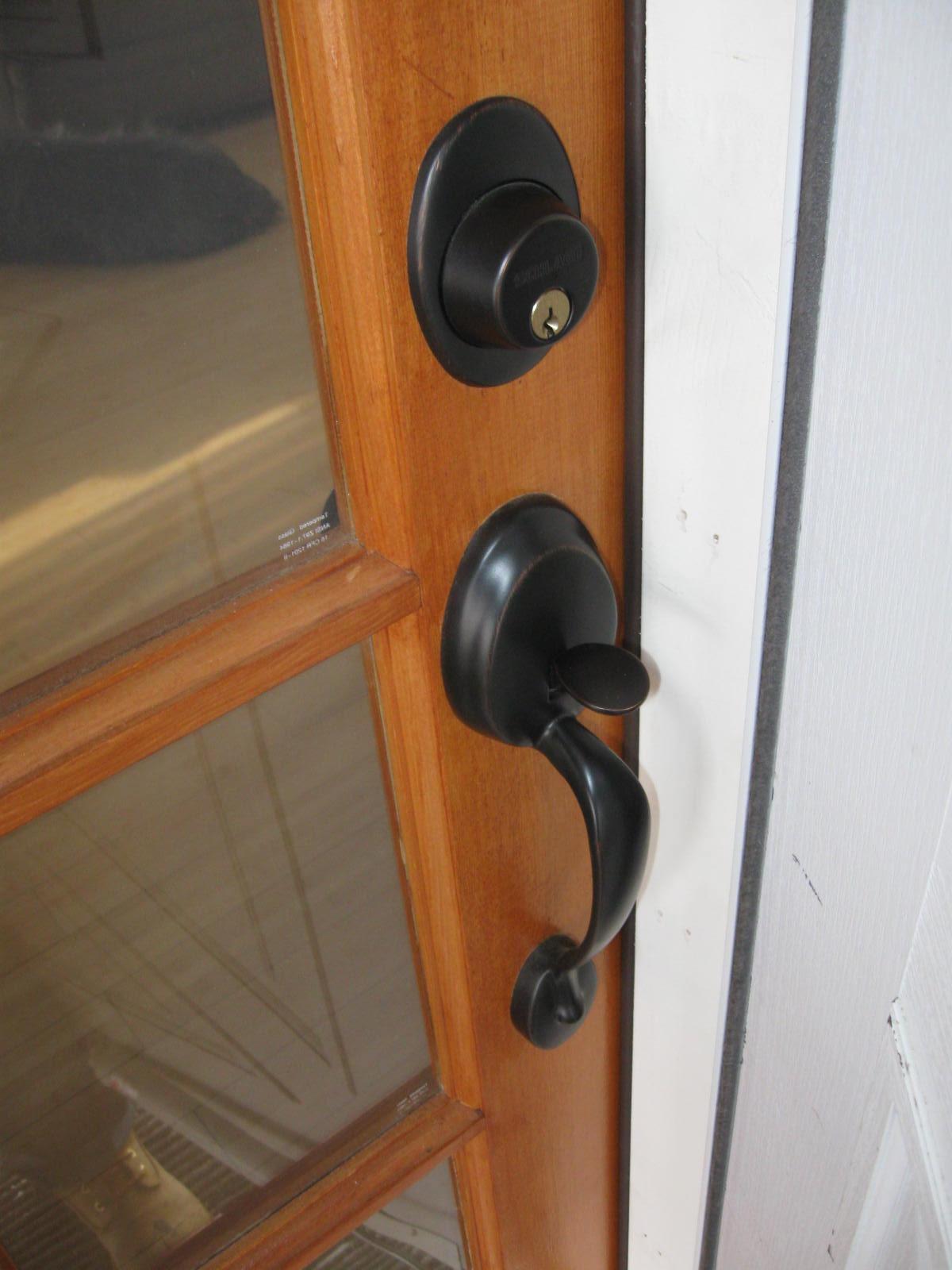 exterior door knobs photo - 2