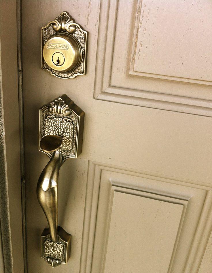 exterior door knobs and locks photo - 12
