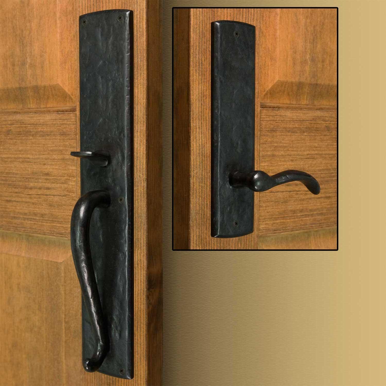 exterior door knobs and locks photo - 17