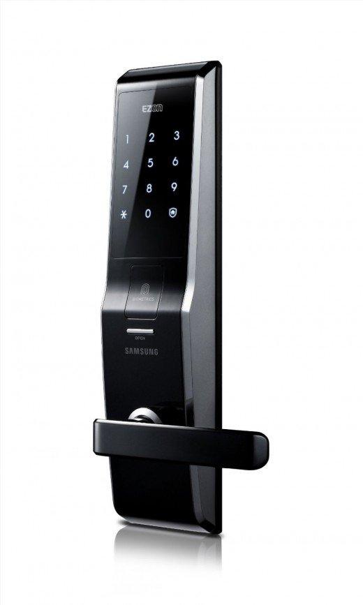 fingerprint door knob photo - 15
