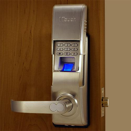 fingerprint door knob photo - 16