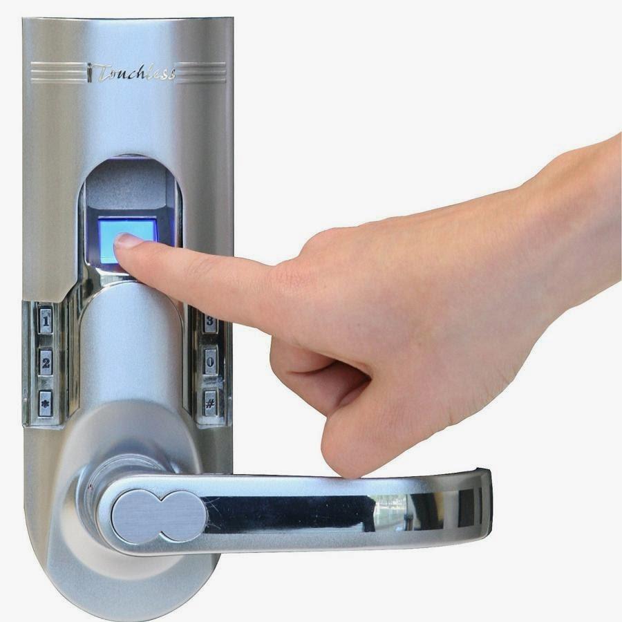 fingerprint door knobs photo - 7