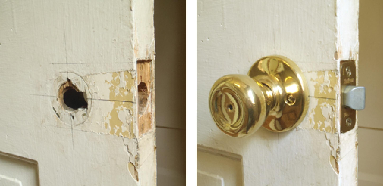 fix broken door knob photo - 10