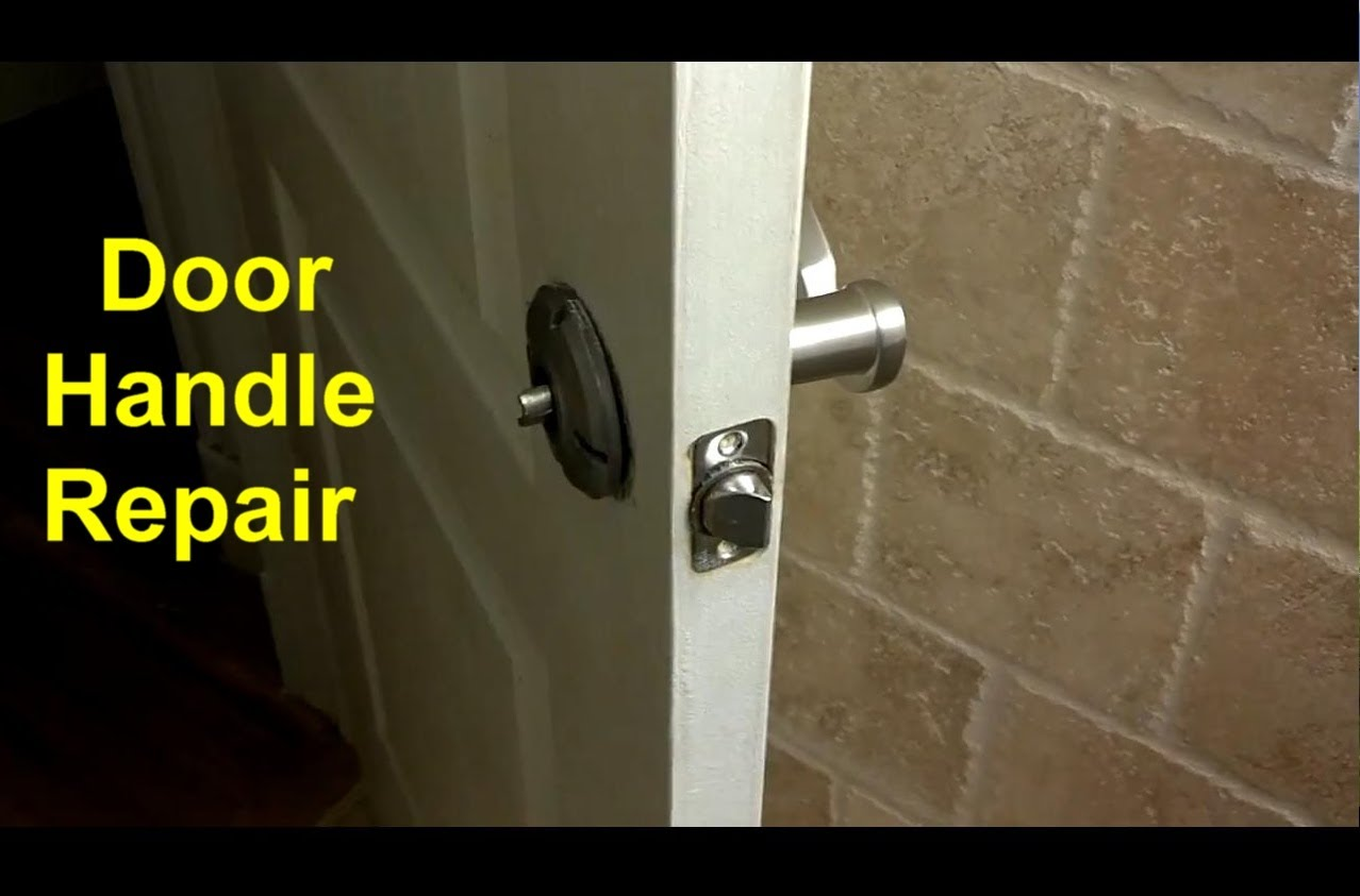 fix broken door knob photo - 4