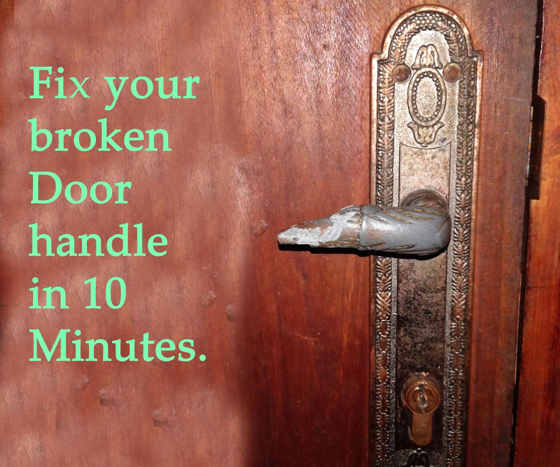 fix broken door knob photo - 7